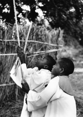 Paolo Solari Bozzi © - Twingi Mission, Lake Kampolongo, Zambia, 2014  - Silver Gelatin print