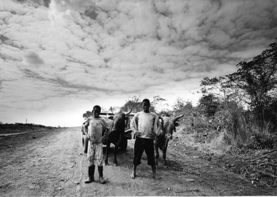 Paolo Solari Bozzi © - Great East Road # 3, Zambia, 2014  - Silver Gelatin print