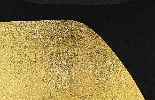 Alberto Burri, Oro e Nero 4, 1993 - Courtesy Fondazione Palazzo Albizzini Collezione Burri, Luxembourg & Dayan