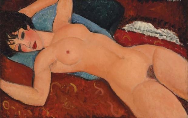 Amedeo-Modigliani-Nu-Couché-1917