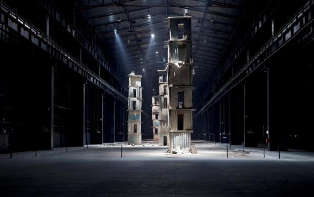 Anselm Kiefer, I Sette Palazzi Celesti, 2004 (foto Agostino Osio, Courtesy Fondazione HangarBicocca, Milano)