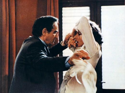 Vittorio Gassman in Benvenuta (1983), regia di André Delvaux