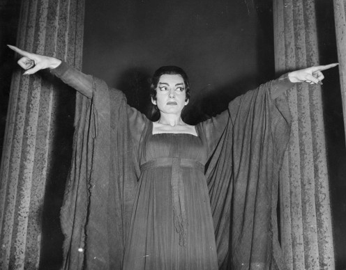 Maria Callas in 'Medea' a Covent Garden, Londra (Photo by John Franks/Getty Images)