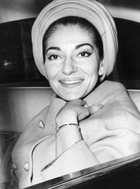 Maria Callas a Londra nel settembre del 1977 (Photo by Central Press/Getty Images)