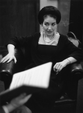 Maria Callas nel settembre del 1958  (Photo by Erich Auerbach/Getty Images)