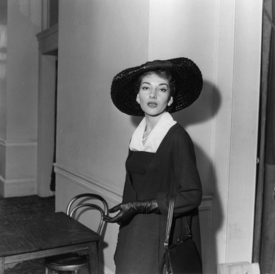 Maria Callas nel 1958  (Photo by D. Weston/Express/Getty Images)