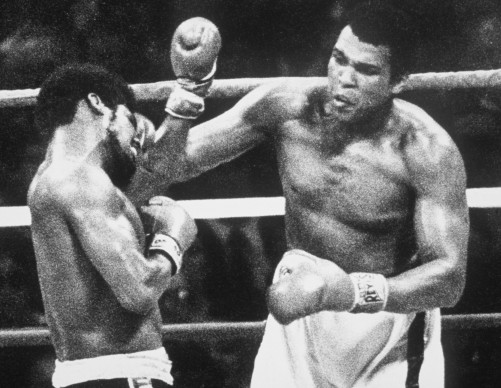 Muhammad Ali, conosciuto anche come Cassius Clay, vince nel settembre del 1978 il suo terzo titolo mondiale contro Leon Spinks (Photo by Allsport UK/Allsport)