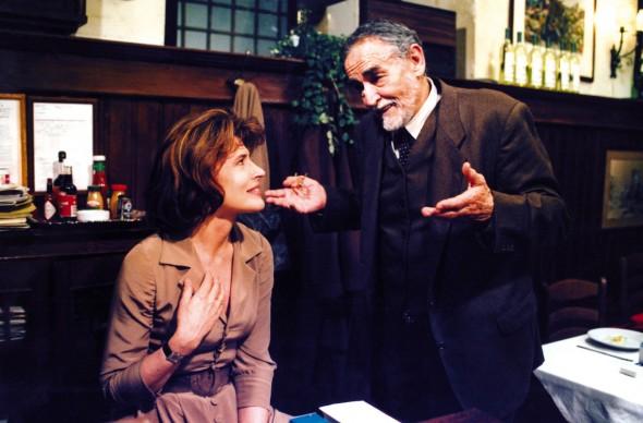 Vittorio Gassman ne La cena (1998), regia di Ettore Scola