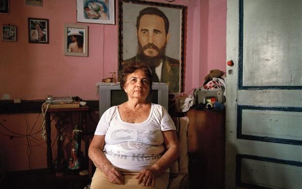 Carolina Sandretto, Maria, serie Vivir con realizzata a Cuba