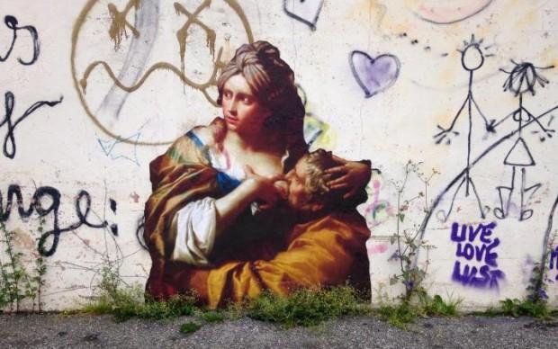 Outing Project intervento di street art Nuart Festival Norvegia