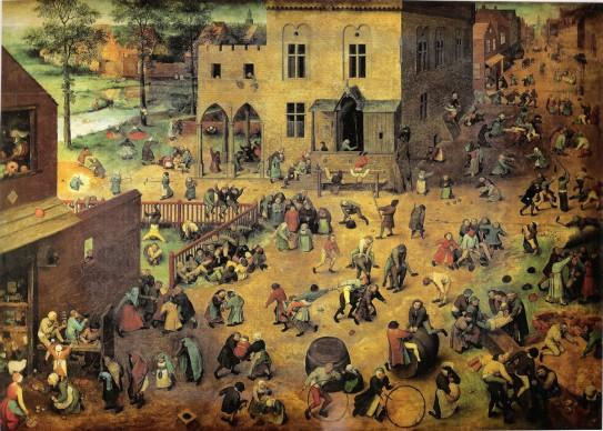Pieter Brueghel il Vecchio, Giochi di bambini, 1560