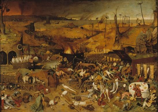 Pieter Brueghel il Vecchio, Trionfo della Morte, 1562 circa