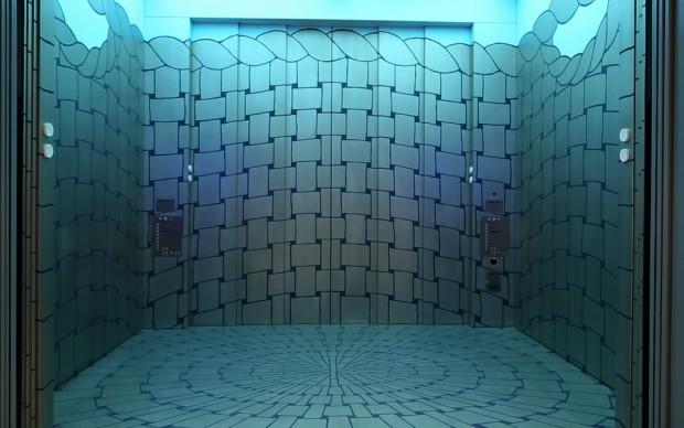 artschwager elevator whitney museum