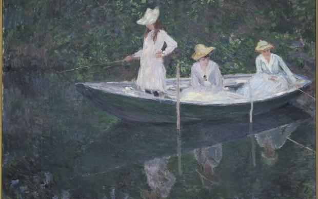Claude Monet, En norvégienne (vers 1887), olio su tela; 97,5x130,5 cm. Paris, Musée d'Orsay © RMN-Grand Palais (musée d'Orsay) / Hervé Lewandowski