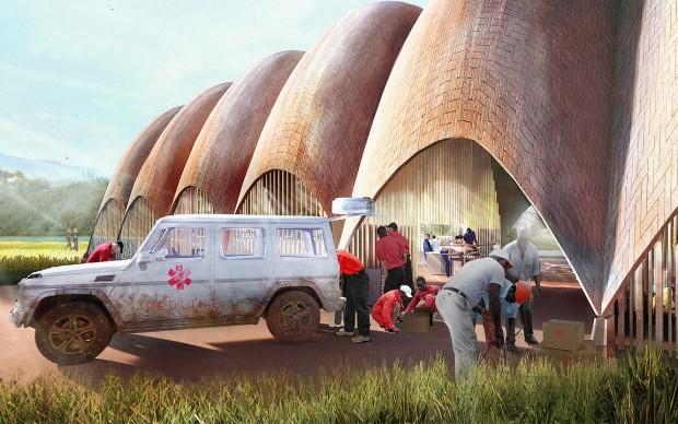 norman foster-partners-aeroporto droni ruanda