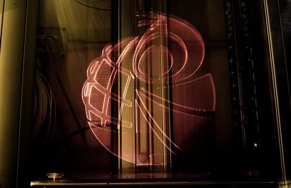 puglieste light painting stampante 3D