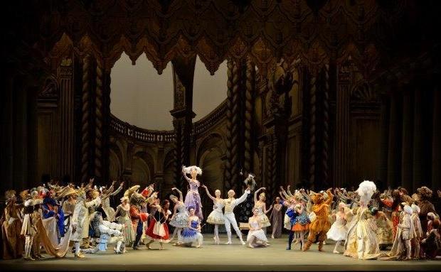Balletto classico: La bella addormentata. Photo Gene Schiavone