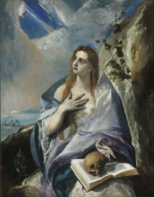 Domenikos Theotokopoulos detto El Greco, Maddalena penitente, 1576 ca. Olio su tela, 156,5x121 cm © Museum of Fine Arts, Budapest 2015