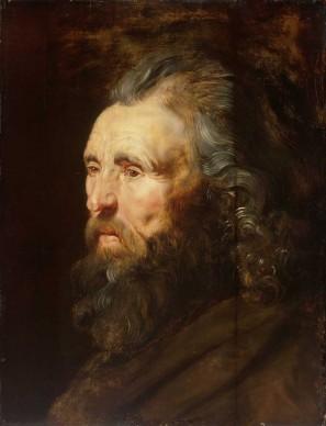 Peter Paul Rubens, Testa d'uomo, 1616-1619 ca. Olio su tavola, 55x42 cm © Museum of Fine Arts, Budapest 2015