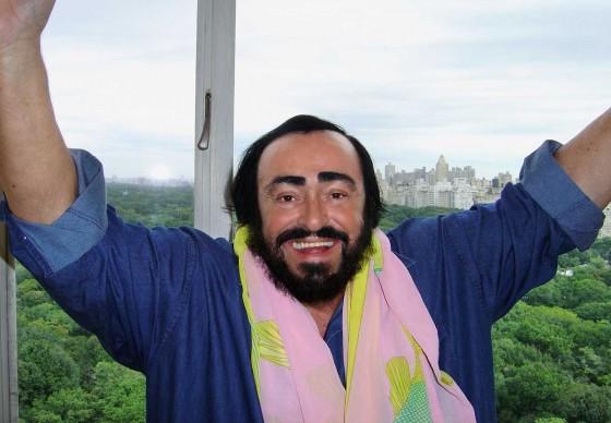 Luciano Pavarotti. © HR/welldoneagency/Edwin Tinoco