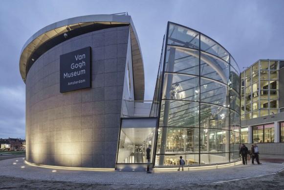 Hans van Heeswijk Architects, Ingresso del Van Gogh Museum, 2015, Amsterdam. Photo by Jan Kees Steenman, Ronald Tilleman