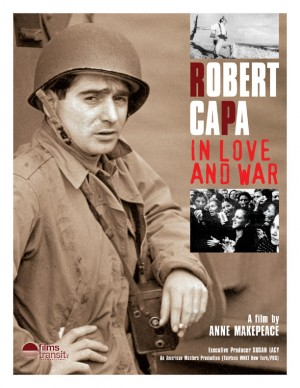 La locandina originale di 'Rober Capa - In amore e in guerra