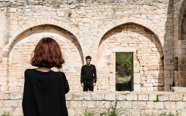 """Conversano (BA), Monastero di San Benedetto. 2° Concorso Internazionale """"Movingart & Openspace"""" per residenze artistiche. Fonte & Poe, chiesa di San Lorenzo"""