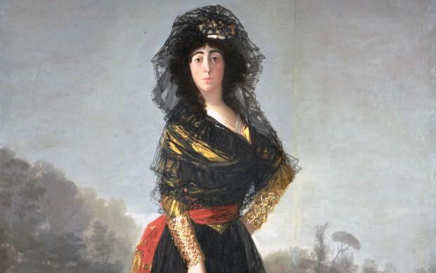 Francisco-Goya,-Ritratto-della-duchessa-de-Alba-in-nero,-1797