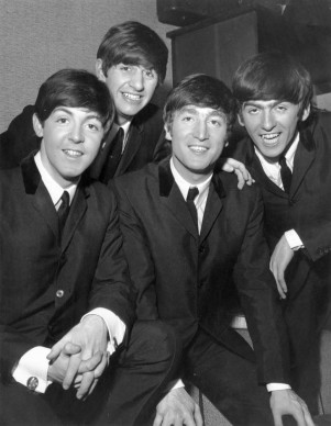 I Beatles nel gennaio del 1964 (Photo by Terry Disney/Express/Getty Images)