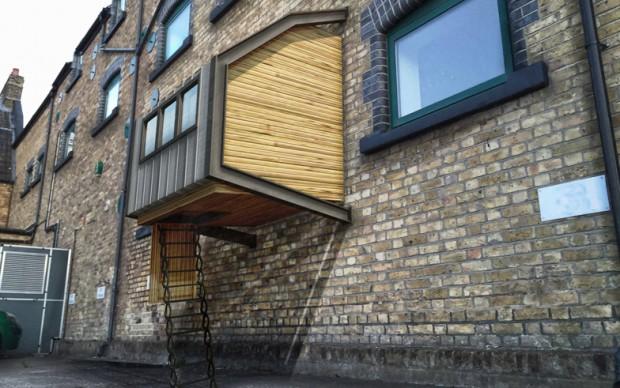 Home for the homeles architettura prototitpo indiegogo James-Furzer