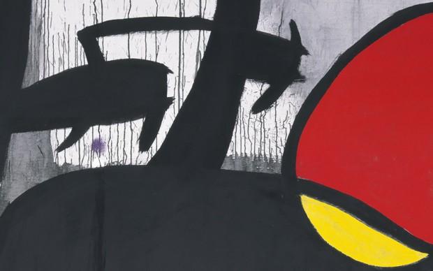 Joan Miro Villa Manin Soli di notte