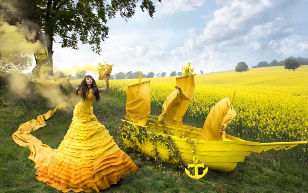 Kirsty Mitchell Gaia's Spell