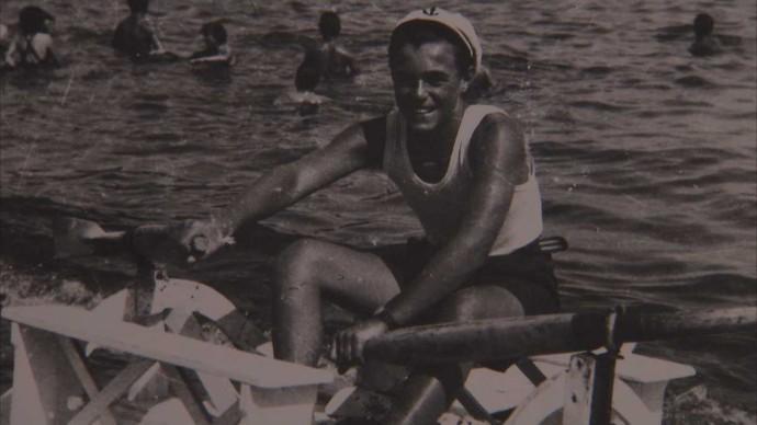 Luciano Pavarotti nel 1955
