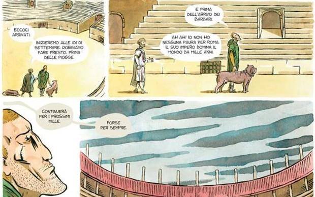 Michele-Petrucci-graphic-novel-la-lettura-corriere-della-sera-mostra-triennale-milano