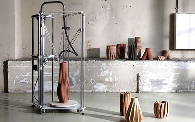 Olivier van Herpt - Functional 3D Printed Ceramics - Eindhoven Design Academy - Graduation Show 2015