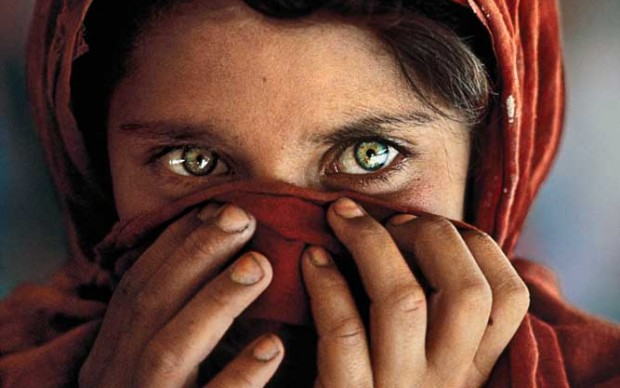 Steve McCurry, Peshawar, Pakistan, 1984