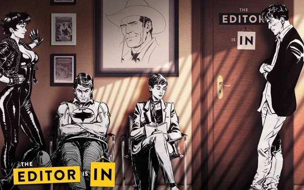 serie tv The Editor is In Sala Attesa Sky Arte Tiwi Sergio Bonelli