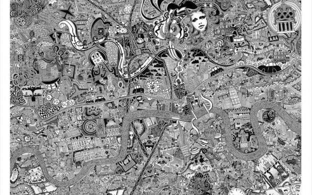 Fuller aka Gareth Wood Maps Londra