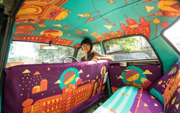 Shivalini Kumar taxi fabric mumbai india