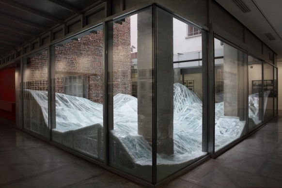 Baptiste Debombourg, Acceleration Field. Photo credit: Courtesy Galerie Patricia Dorfmann - Parigi