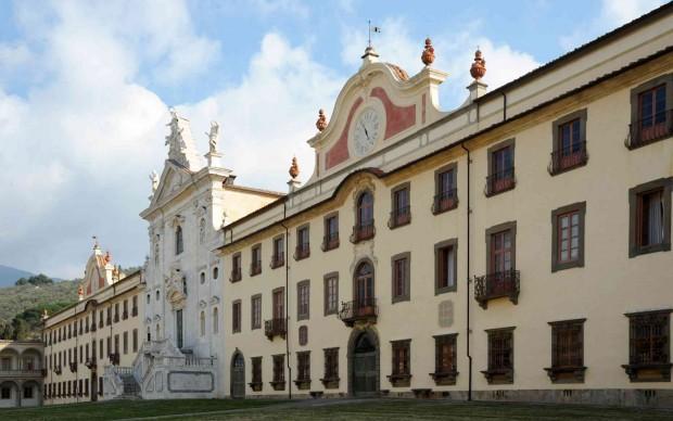 Certosa di Calci PI, prospetto - Foto Roberto Barbuti © Archivio FAI