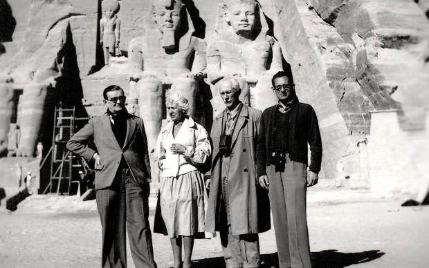 Abu Simbel, 1961, Jaroslav Černý, Zofia Jeżewska, Kazimierz Michałowski, Sergio Donadoni