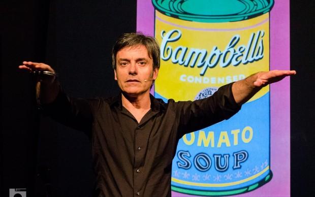 Carlo Vanoni in L'Arte è una Caramella
