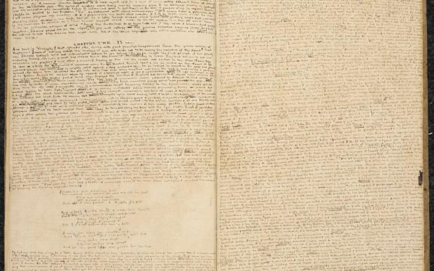 Manoscritto del 1833 di Charlotte Bronte