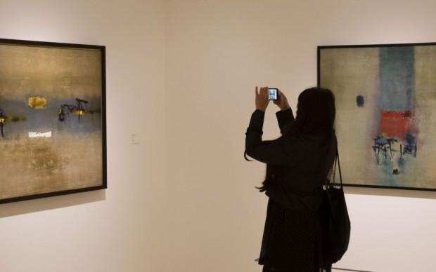 Gaitonde mostra pittura Collezione Peggy Guggenheim Venezia
