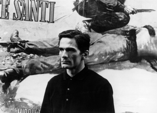 Pier Paolo Pasolini (Photo by Keystone/Getty Images)