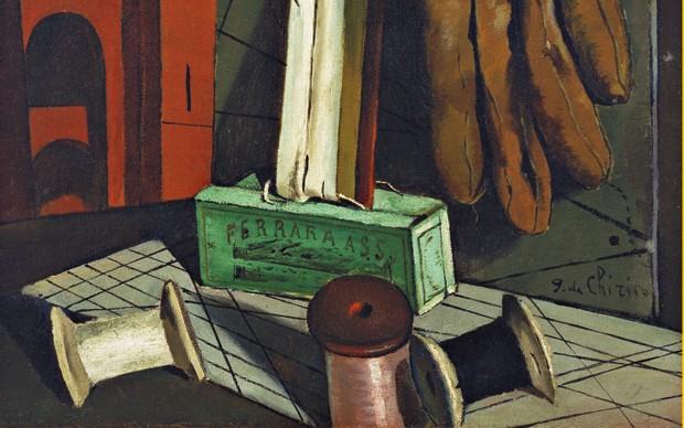 Giorgio-de-Chirico-I-progetti-della-ragazza,-fine-1915-Olio-su-tela,-New-York,-Museum-of-Modern-Art,-Lascito-di-James-Thrall-Soby,-1979-©-2015.-Digital-image