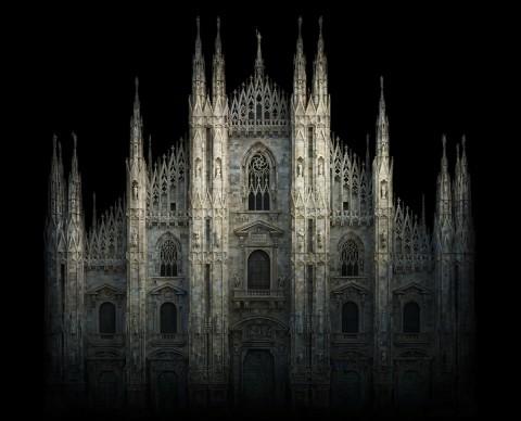 Irene Kung, Duomo. Milano, 2012 © Irene Kung - Courtesy Contrasto Galleria Milano