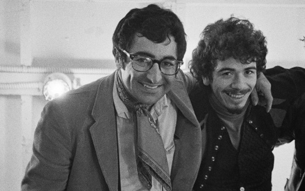 Jim Marshall with Carlos Santana