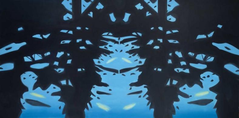 Alex Katz, Reflection 7, 2008. Olio su tela. Collezione dell'artista. Photo by Paul Takeuchi © VEGAP, Bilbao, 2015